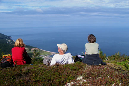 Hiking Cape Breton Highlands