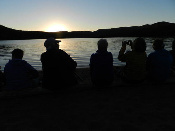 Sunset Hike - Warren Lake