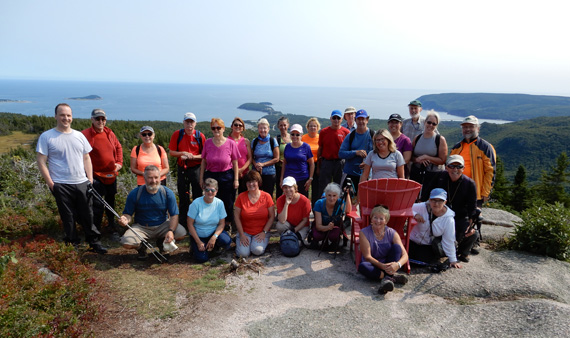 Franey hike, Hike the Highlands Festival, Photo credit - Tom Wilson