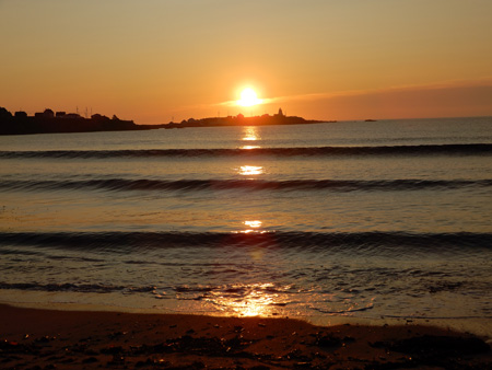 Sunrise at Neil's Harbour